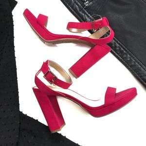 •SAM EDELMAN• Circus Sam Edelman Block Heel High